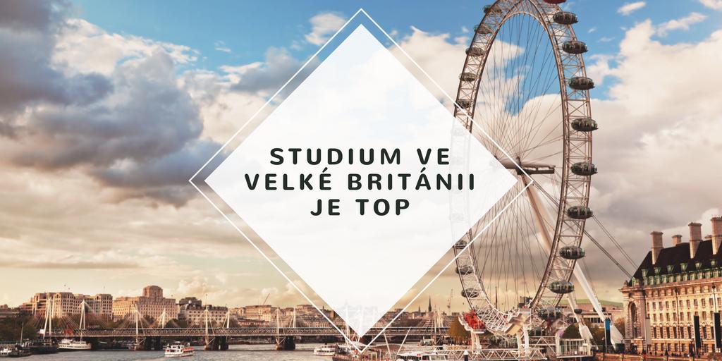 Studium ve Velké Británii
