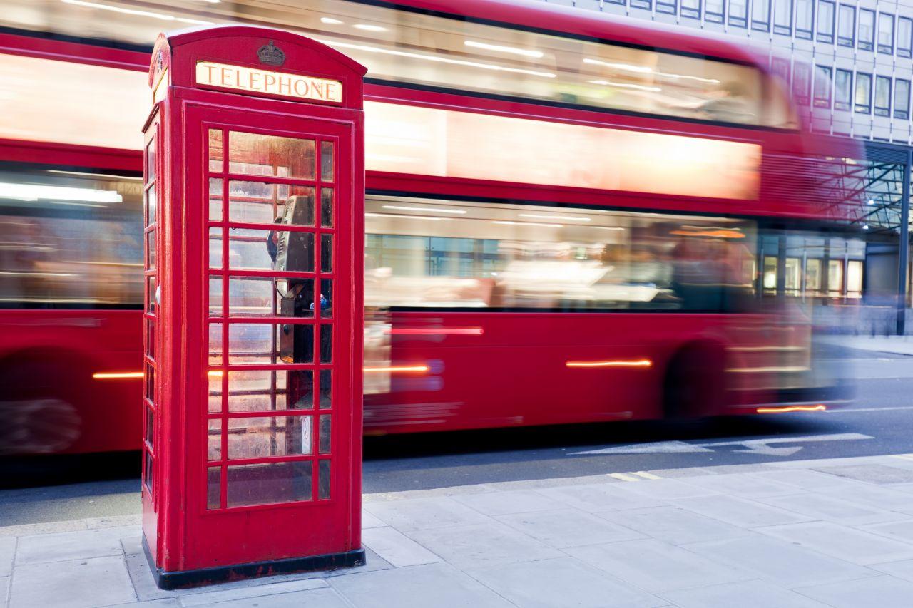 Autobus v Anglii