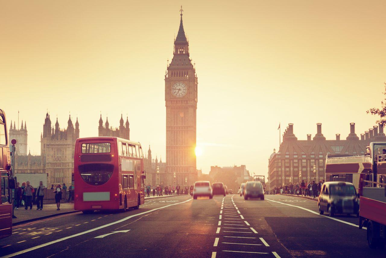 Londýn a doubledecker
